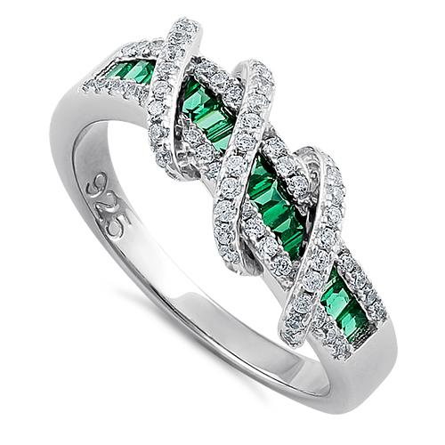 925 Exotic Emerald Twisted