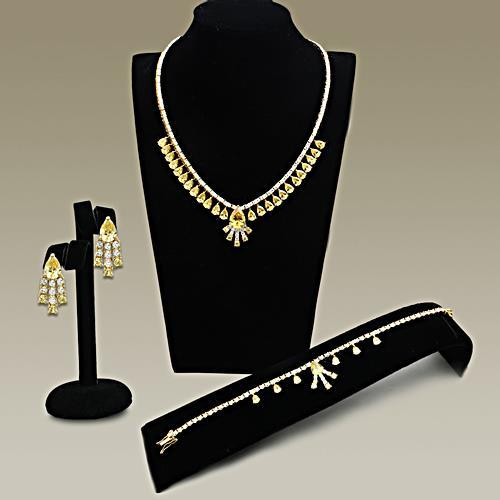 4 Piece Gold-Plated Set