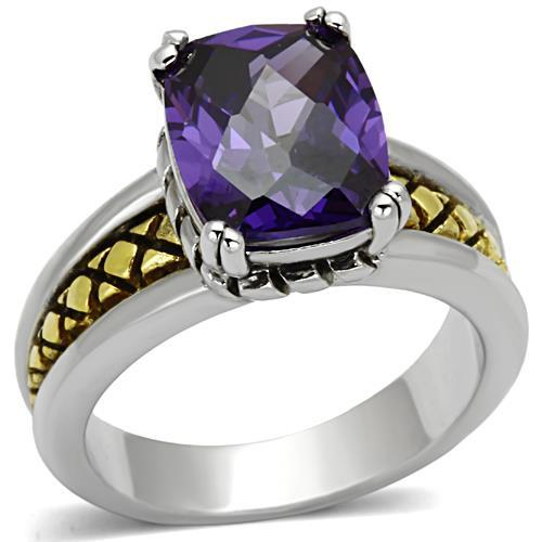 Women's Two-Tone Rings