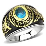 US Air Force Two-Tone, Stainless Steel Ring